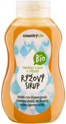 Country life BIO Sirup rýžový 250 ml