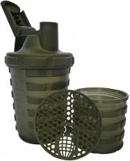 Grenade Šejkr 600 ml s dávkovačem - zelený