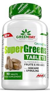Amix Supergreens Tablets 90 tablet