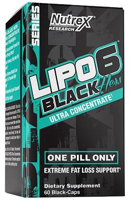 Nutrex Lipo 6 Black Hers Ultra Concentrate 60 kapslí