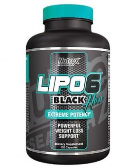 Nutrex Lipo 6 Black Hers 120 kapslí