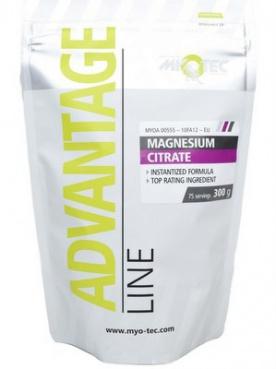 MyoTec Magnesium Citrate 300g VÝPRODEJ (POŠK.OBAL)