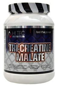 Hitec Nutrition Tri-Creatine Malate 200 kapslí