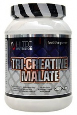 Hitec Nutrition Tri-Creatine Malate 200 kapslí