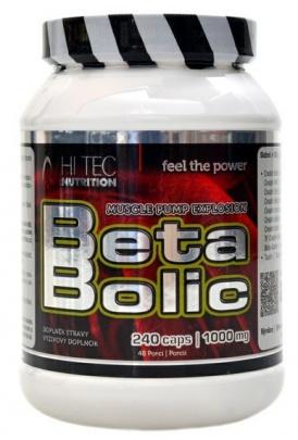 Hitec Nutrition Beta Bolic 240 kapslí