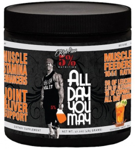 5% Nutrition Rich Piana All Day You May 465 g