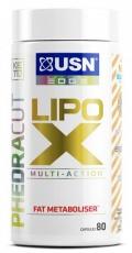 USN Phedra Cut LIPO X 80 kapslí