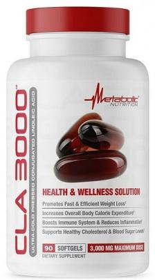 Metabolic Nutrition CLA 3000 180 kapslí