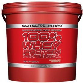 Scitec 100% Whey Protein Professional 5kg - banán PROŠLÉ DMT