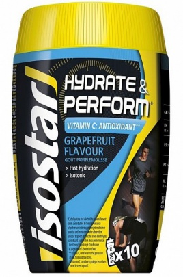 Isostar Hydrate & Perform 400 g + Isostar Power ZDARMA