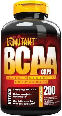 Mutant BCAA 200 kapslí