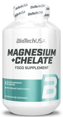 BiotechUSA Magnesium + chelate 60 kapslí