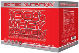 Scitec 100% Whey Protein Professional 60x30g
