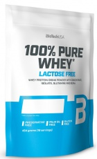 BioTechUSA 100% Pure Whey Lactose Free 454g