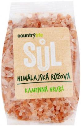 Country Life Himalájská sůl růžová hrubá 500g