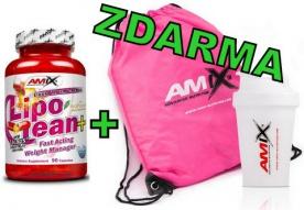 Amix LipoLean 90 kapslí + Shaker Amix a Fitness Bag ZDARMA