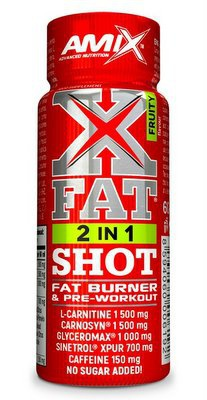 Amix XFat 2 in 1 shot 20x60 ml - fruity