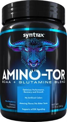Syntrax Amino-tor 340g - Blue Raspberry