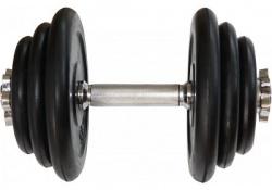 Jednoruční pogumovaná nakládací činka 20kg