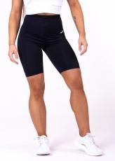 Nebbia High waist Road cyklistické šortky černé 683