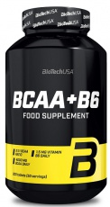 BiotechUSA BCAA+B6 200 tablet