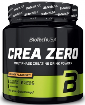 BiotechUSA Crea Zero 320 g - pomeranč