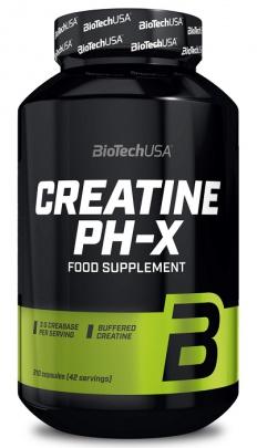 BioTechUSA Creatine pH-X 210 kapslí