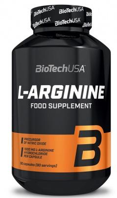 BioTechUSA L-Arginine 90 kapslí