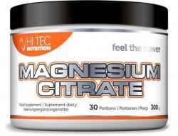 HiTec Nutrition Magnesium Citrate 300 g - pomeranč