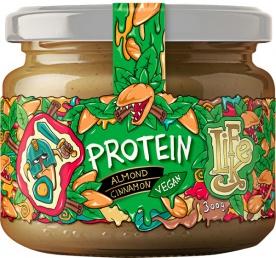 Lifelike Protein almond cinnamon (mandlový krém se skořicí) 300g