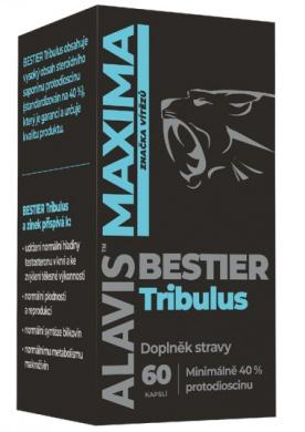 Alavis Maxima Bestier Tribulus 60 kapslí