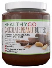 HealthyCo Chocolate Peanut Butter (čokoládovo-arašídové máslo) 320 g PROŠLÉ DMT