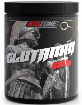 Big Zone Glutamin 500 g - bez příchuti