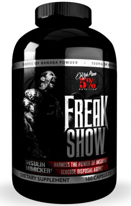 5% Nutrition Rich Piana Freak Show 180 kapslí
