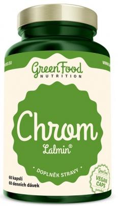 GreenFood Chrom Lalmin 60 kapslí