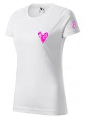 Fitness007 Dámské tričko bílé #jdudosebe