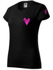 Fitness007 Dámské tričko černé #jdudosebe