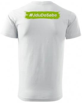 Fitness007 Pánské tričko bílé #jdudosebe