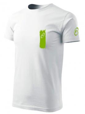 Fitness007 Pánské tričko bílé #musíšfurt