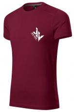 Jirka Vacek Pánské tričko bordo
