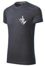 Jirka Vacek Pánské tričko šedá