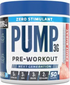 Applied Nutrition Pump 3G Zero 375g + funnel dávkovač ZDARMA