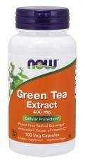 Now Foods Green Tea 400mg 100 kapslí
