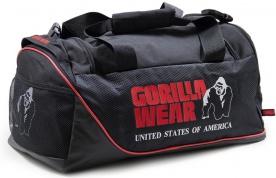 Gorilla Wear Sportovní taška Jerome Gym Bag Black/Red