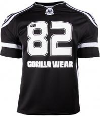 Gorilla Wear Pánské tričko Athlete T-shirt Black/White