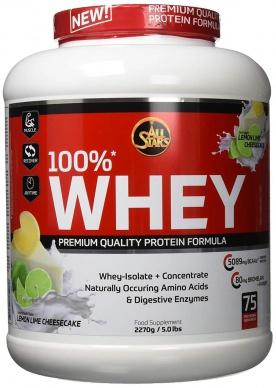 All Stars 100% Whey protein 2270g + tričko ZDARMA