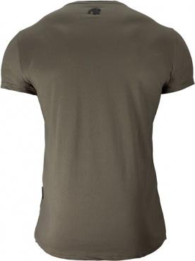 Gorilla Wear Pánské tričko Hobbs T-shirt Army Green