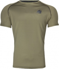 Gorilla Wear Pánské tričko Performance T-shirt Army/Green