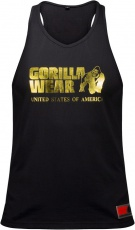 Gorilla Wear Pánské tílko Classic Tank Top Gold