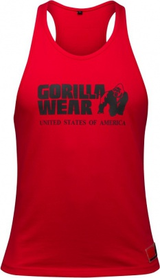 Gorilla Wear Pánské tílko Classic Tank Top Red